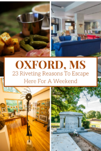 I originally learned about Oxford, MS from my charming sister-in-law. She grew up in nearby Albany and went to school at Ole Miss. A few years later I learned about the Debutante Farmer and and the amazing food scene in this small Southern town. Football, food, and friendly folks like my SIL, Tina? I was ready to visit! So hubby and I hopped in the car for a 'date night' weekend escape to Oxford, MS and fell head-over-heels. Here are just 23 reasons why we love it so much...now it's your turn to fall in love with it, too. Our recipe for an exciting time doesn't include game day at Ole Miss (Hoddy Toddy!) so you'll have to make it back for that!
