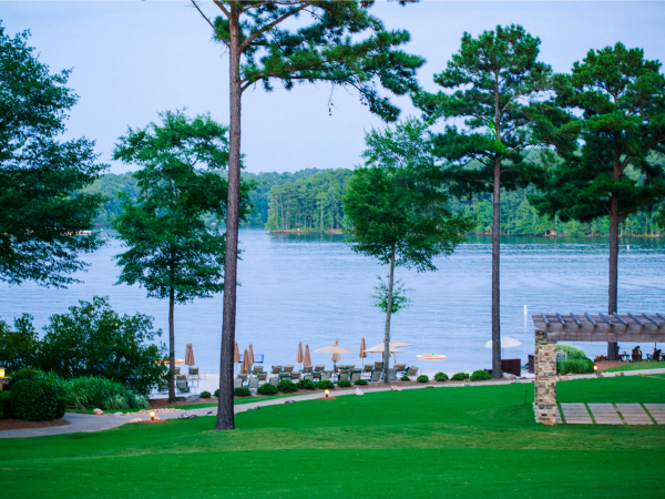 beach pool lake oconee