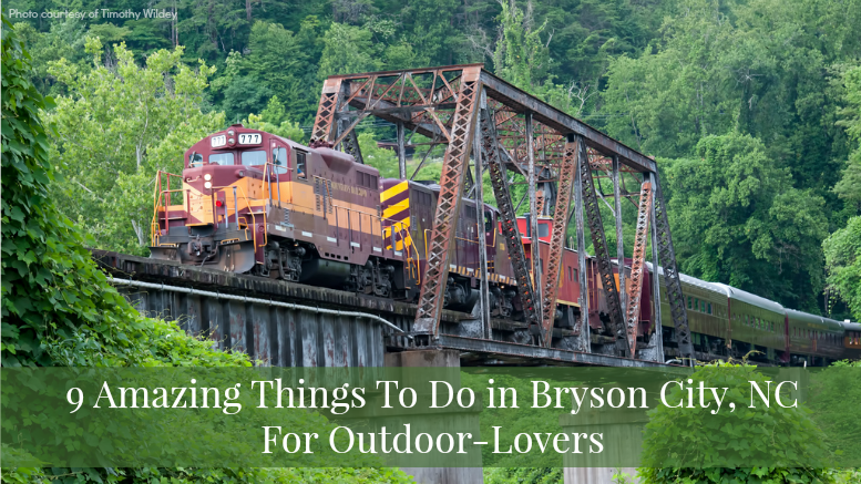 things to do in bryson city nc