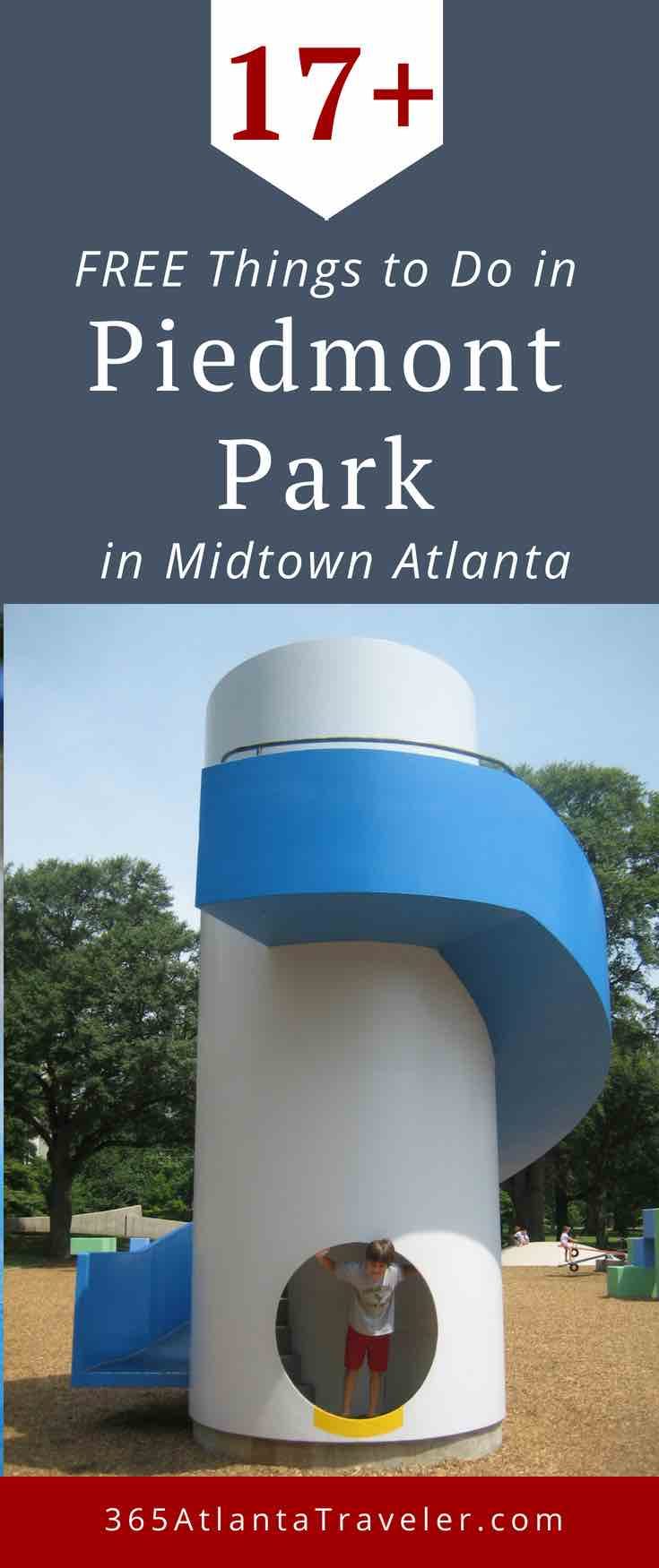 Piedmont Park is one of Atlanta's most beloved landmarks. Here are 17 FREE Ways You'll Love To Have A Fun At Piedmont Park - from festivals and bocce ball to tours and scavenger hunts.
