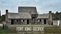 fort king george historic site