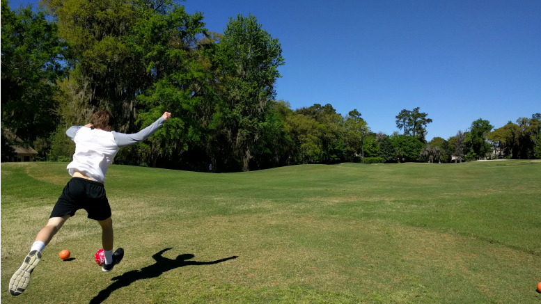 Foot Golf Georgia at Sea Palms Resort on St. Simons Island, Ga.