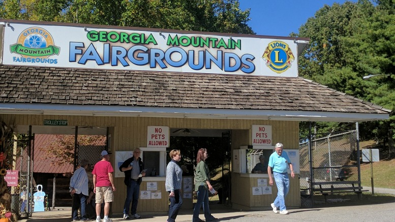 Georgia Mountain Fair Grounds in Hiawassee, Ga.