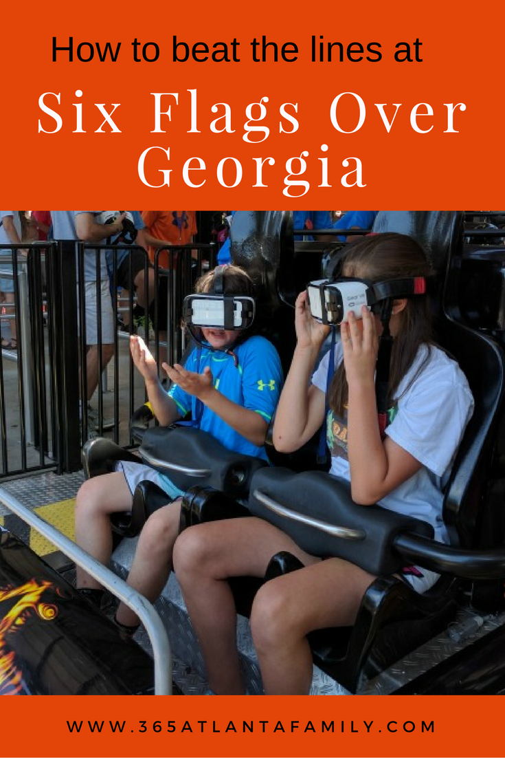 How to Beat the Lines at Six Flags Over Georgia