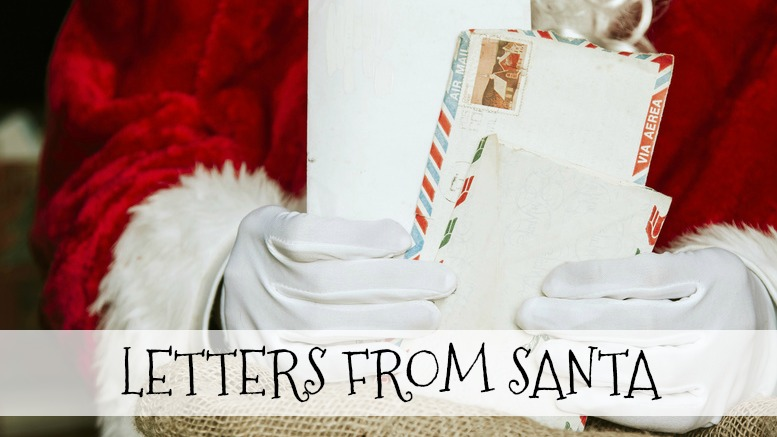 letters from santa a magical experience every kid loves