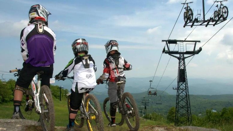 Mountain Biking Fun beyond Land of Oz Beech Mountain NC
