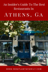 Restaurants in Athens, GA offer up good ol' southern home-cooking you've heard so much about, but did you know that Athens also offers some unique options.