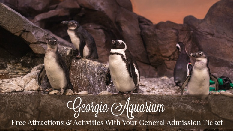 10 free attractions activities with your aquarium ticket