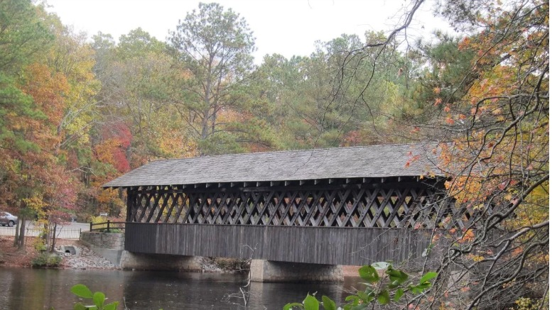 Stone Mountain Park Covered Bridge