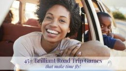 Road Trip Games that Make Time Fly