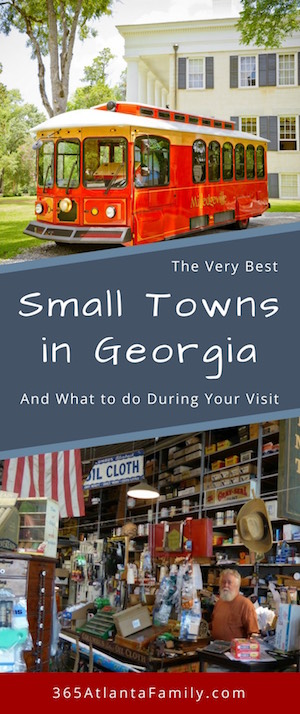 Small Towns in Georgia