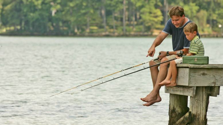 Fishing on Lake Sinclair is a family affair