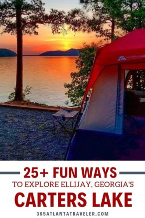 Carters Lake 25 Fun Ways To Explore Ellijay S Top Attraction