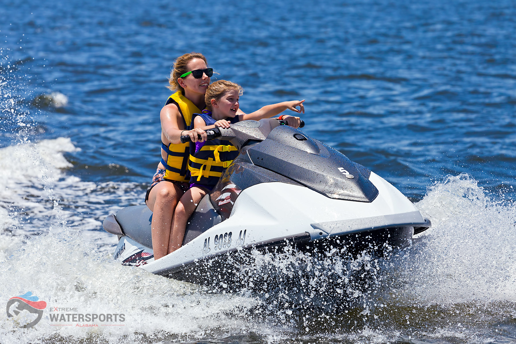 Rent a Jet Ski…Even With Kids