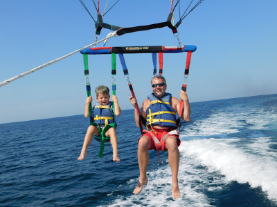 Perfect Parasailing with Gilligan's Watersports